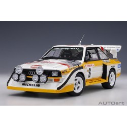 AUDI QUATTRO S1 No. 6 RALLY...