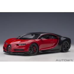 Autoart 70996 Bugatti Chiron Sport Italian Red/Carbon