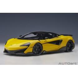 McLaren 600LT sicilian yellow autoart 76082